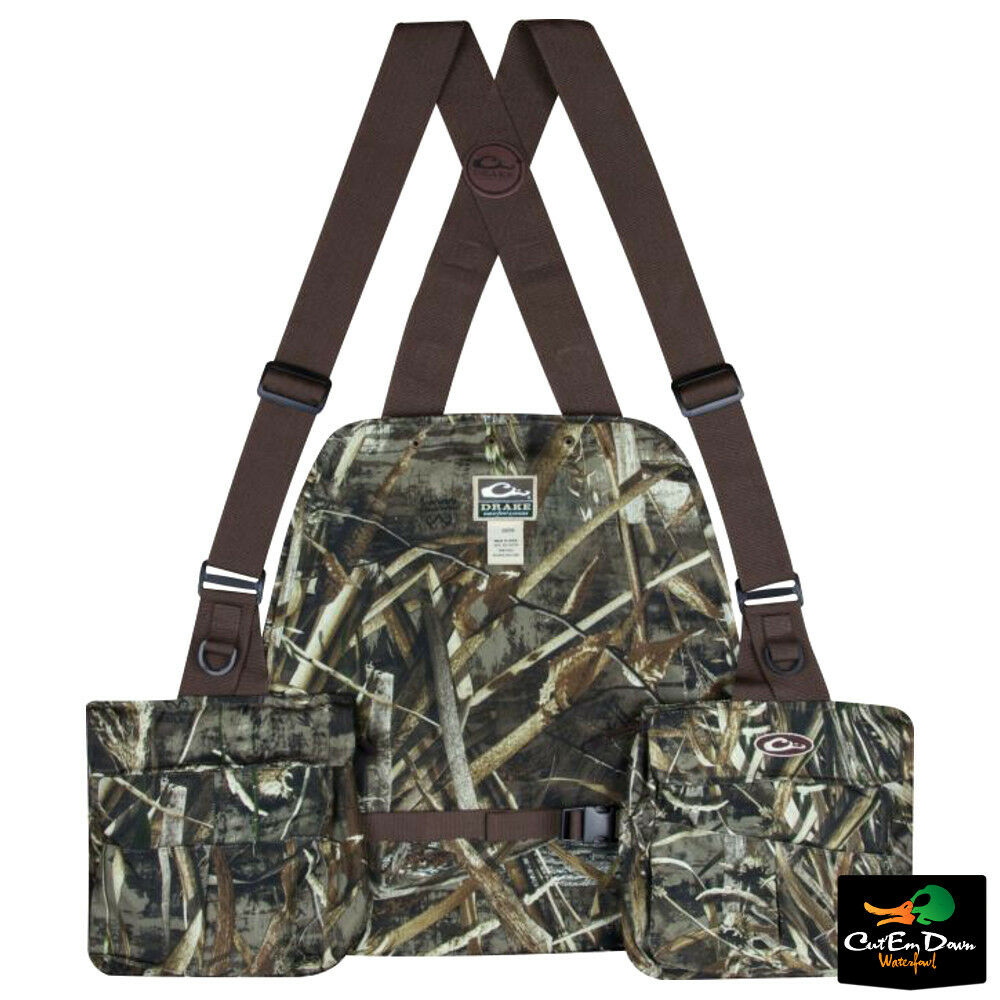 QuietWear Camo Hunting Vest with Game Bag | Cabela's