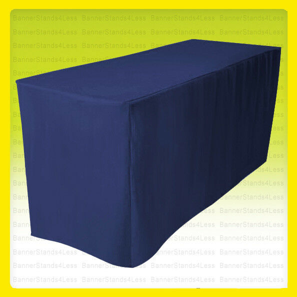 5 39 fitted polyester table cover wedding banquet event for 10 ft table cloth