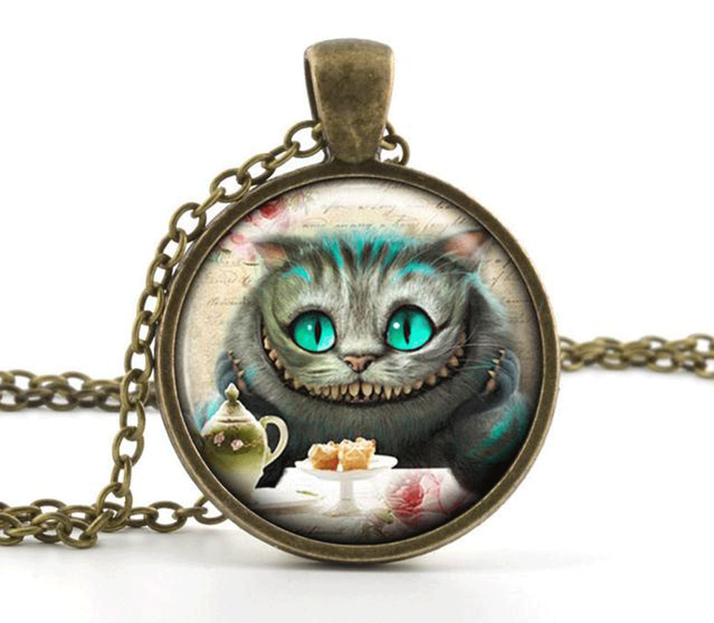 vintage in pendant necklace cheshire