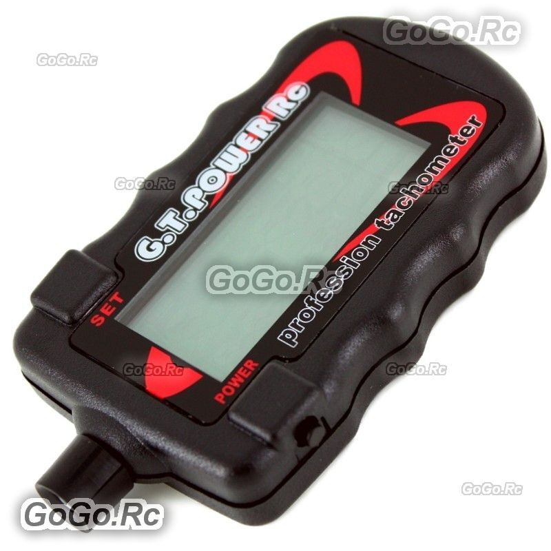 Gt power professional motor rpm tachometer for rc heli for Toy helicopter motor rpm