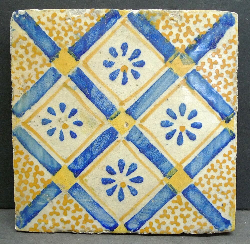 Antique Spanish Tile Ebay