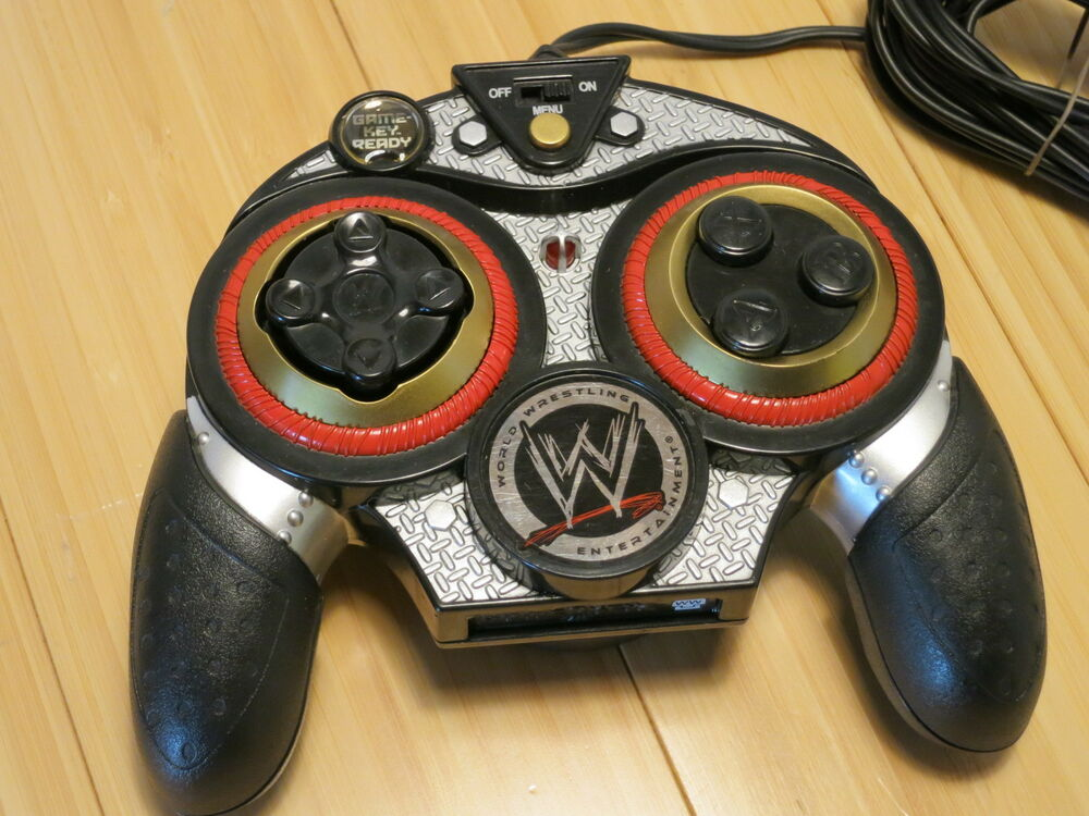 Tv Games Plug Into : Wwe plug it in and play wrestling games plugs directly