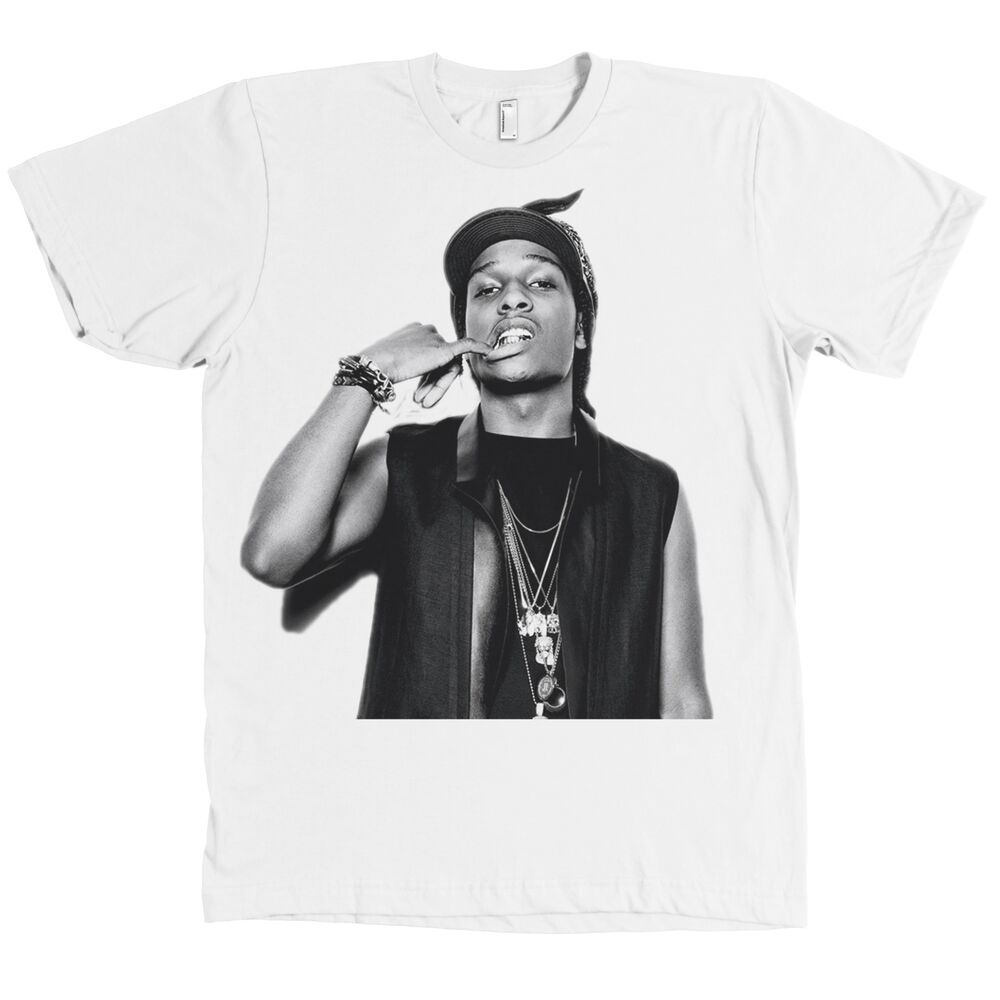7e47d2b64a8 Details about ASAP Rocky Bella+Canvas T Shirt A AP Mob Tee NEW WITH TAGS