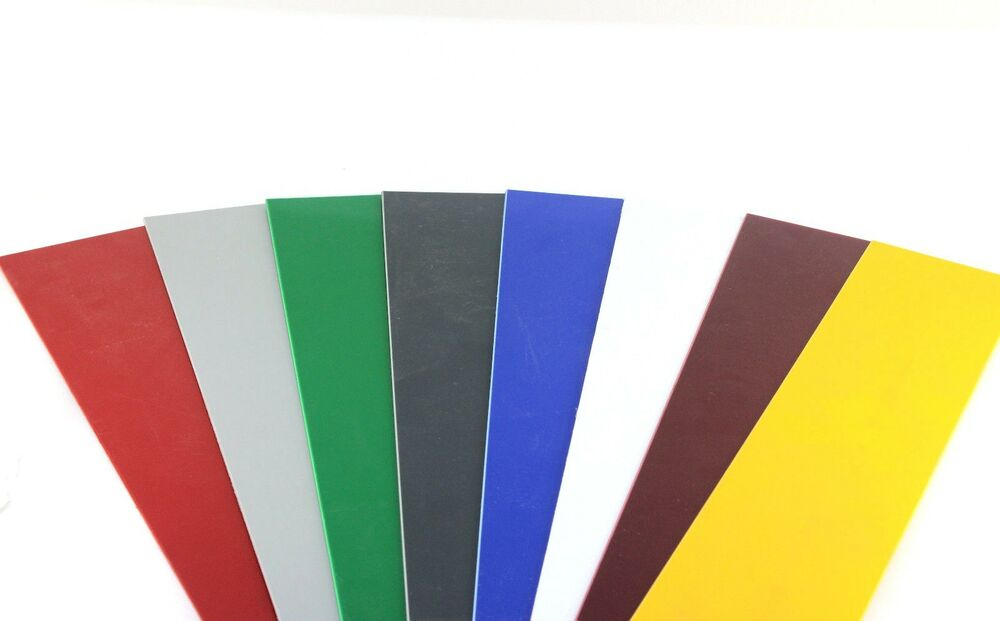 Coloured plastic sheet hips guillotine cut sheet arts for Plexiglass arts and crafts