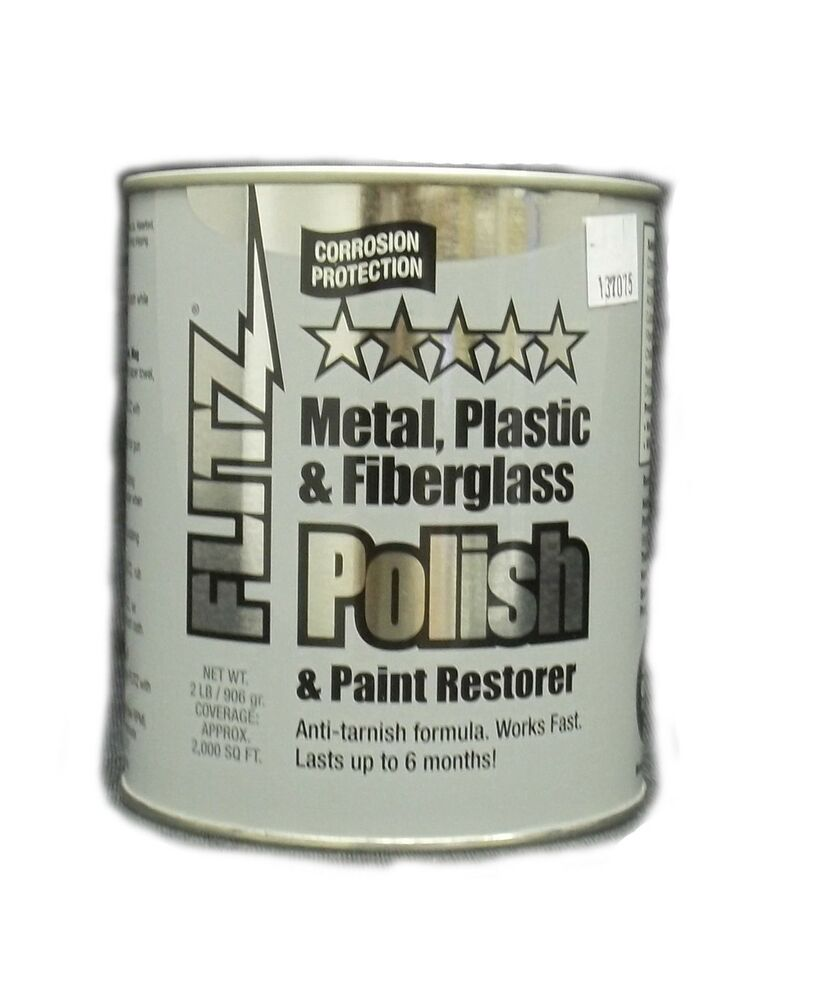 flitz metal plastic fiberglass polish paint restorer 2 lbs 137075 ebay. Black Bedroom Furniture Sets. Home Design Ideas