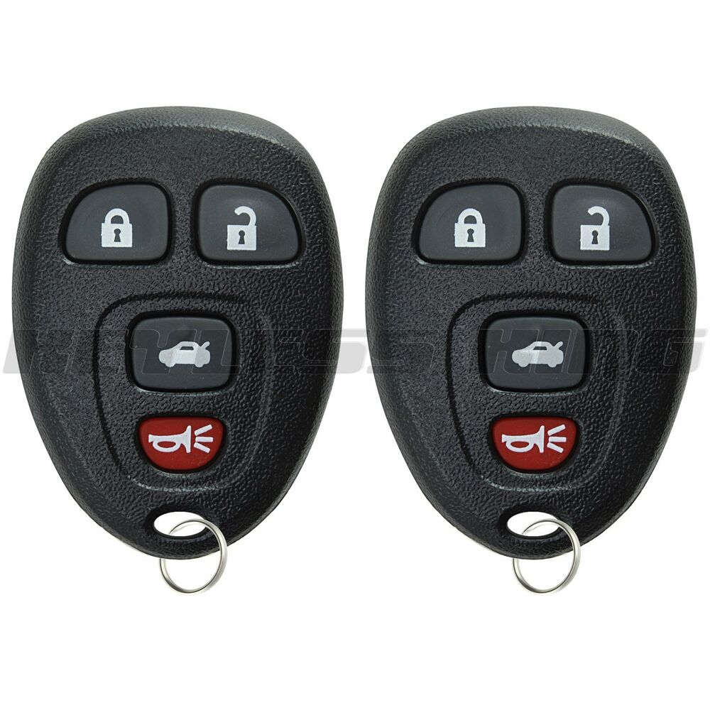 2 new replacement keyless entry remote key fob clicker. Black Bedroom Furniture Sets. Home Design Ideas