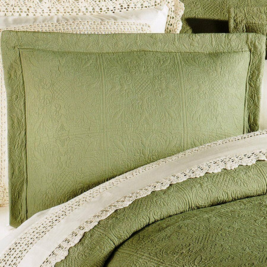 Green Pillow Shams