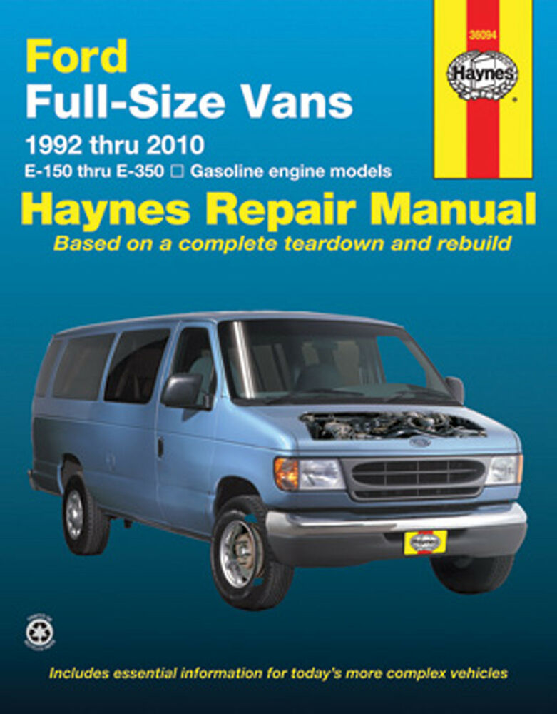repair manual haynes  fits   ford   econoline
