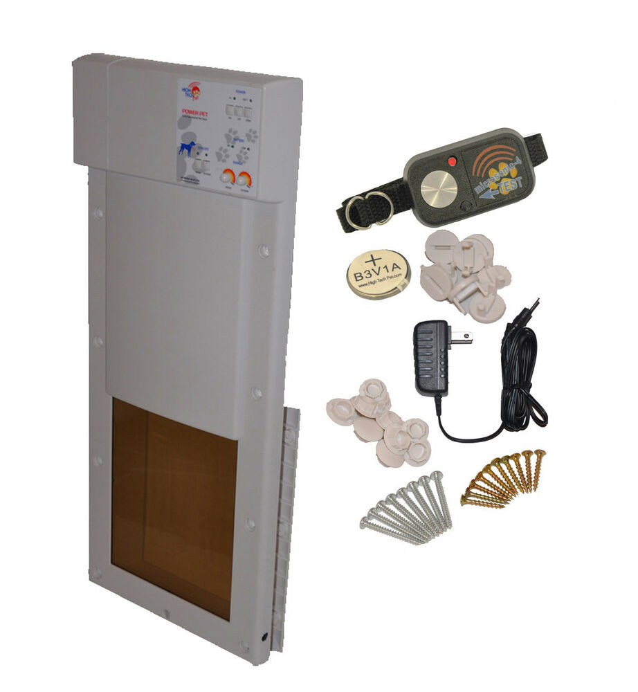Power Pet Med Electronic Automatic Pet Door Factory
