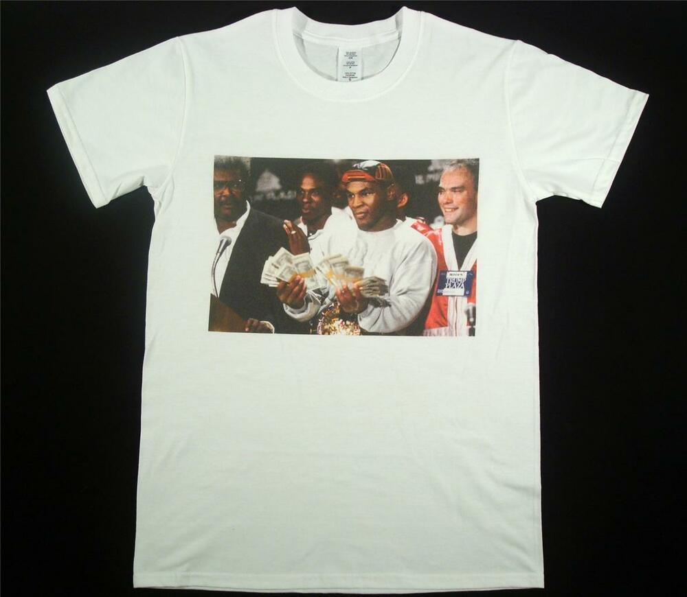mike tyson t shirt size s xxxl boxing heavyweight manny. Black Bedroom Furniture Sets. Home Design Ideas