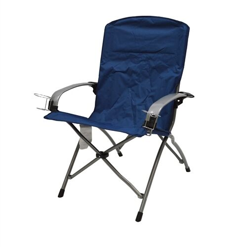 Commander Folding Armchair Firm Seat Support Easy To
