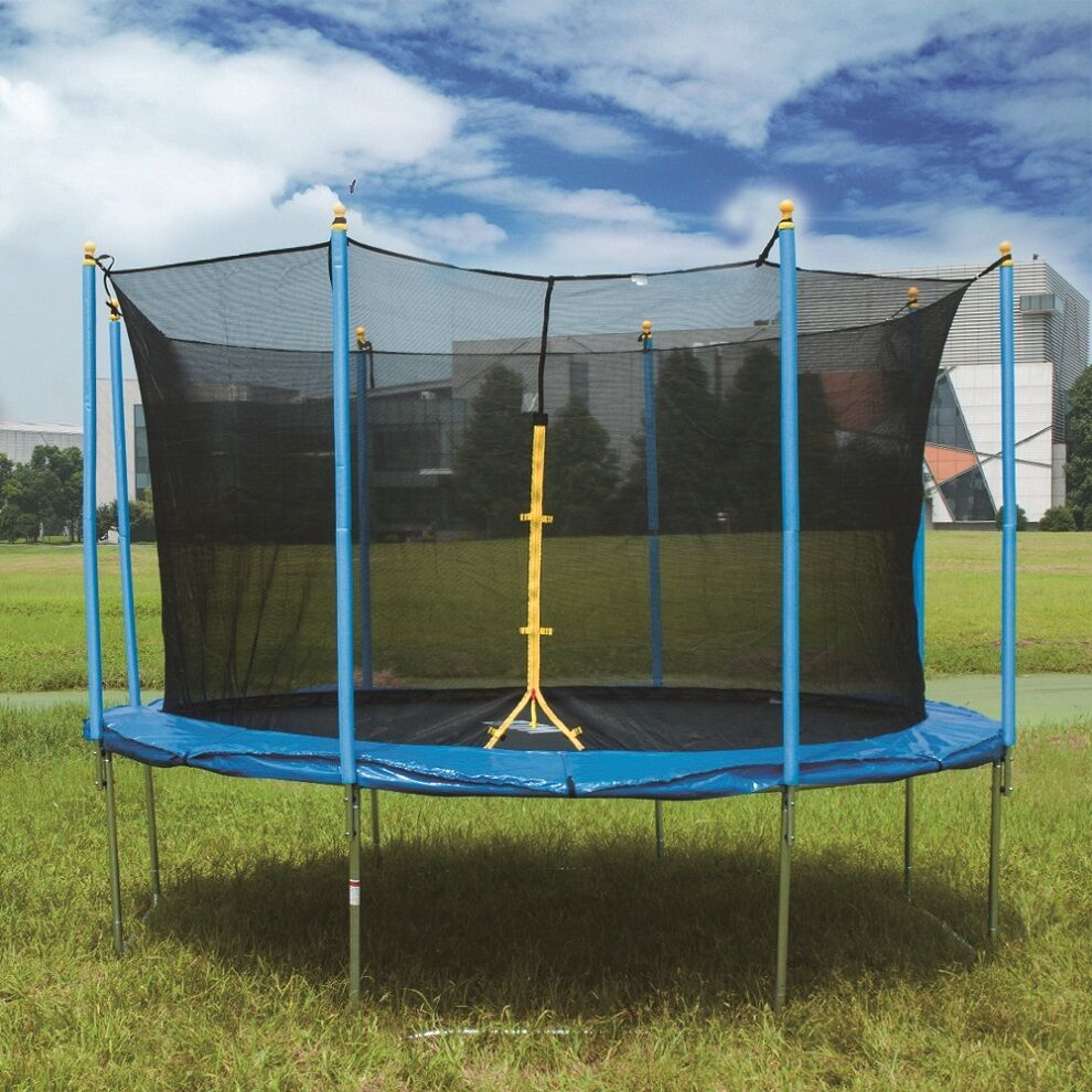6FT-14FT Trampoline Kid&Adult Outdoor Trampoline With