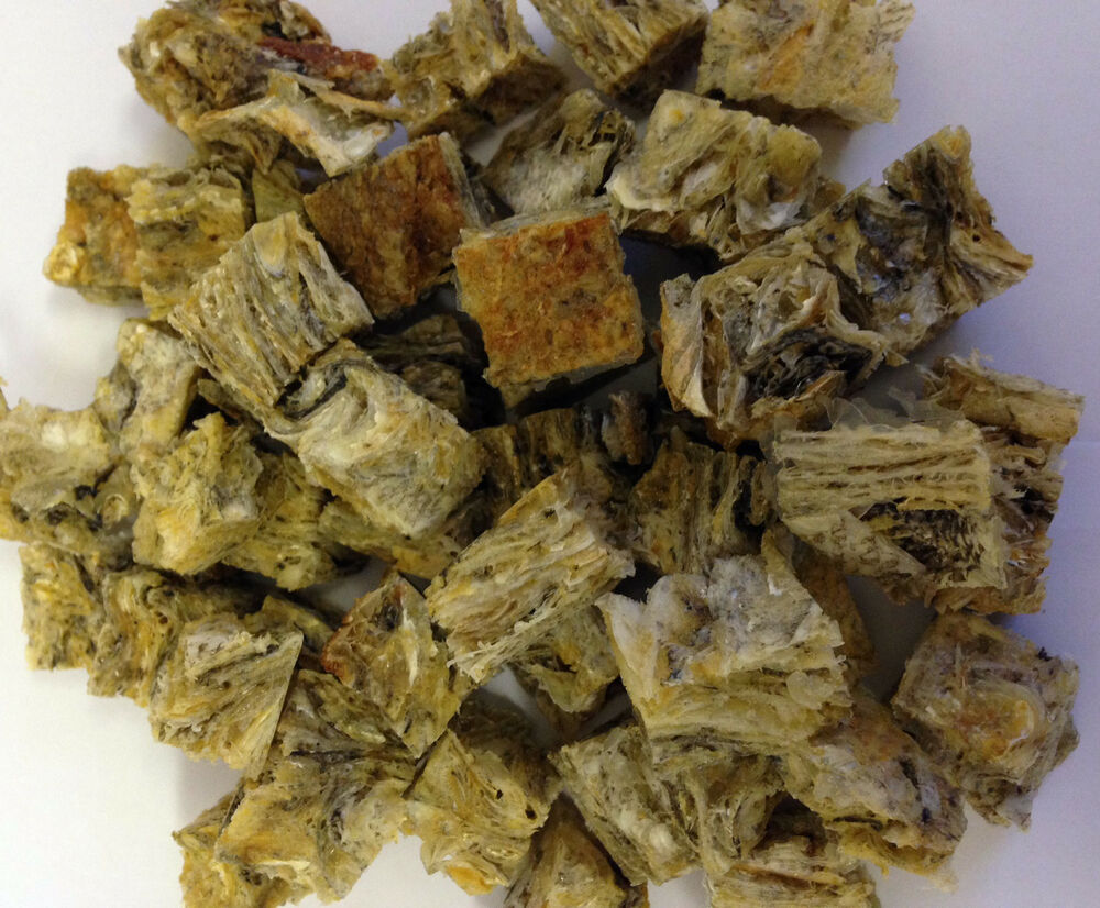 1kg Fish Skin Cubes Treats For Dogs Natural Uk