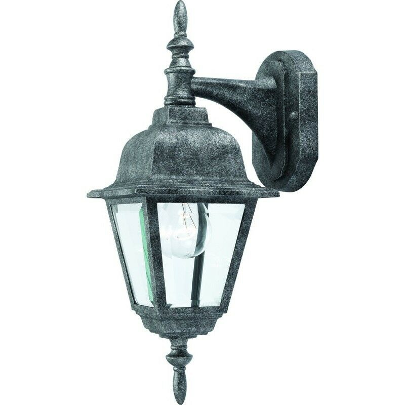 Hardware House Antique Silver Patio/Porch Outdoor Light