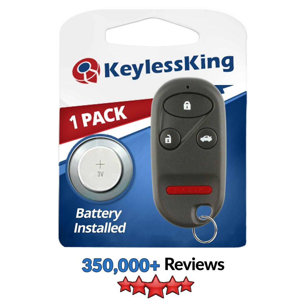 Honda Key Fob >> New Replacement Keyless Entry Remote Key Fob Clicker for OUCG8D-344H-A | eBay