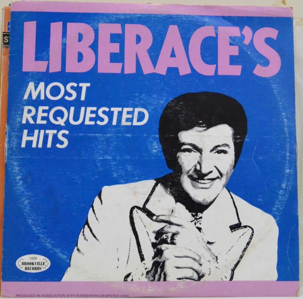 Recordhit: Liberace, Liberace's Most Requested Hits, Double LP Record