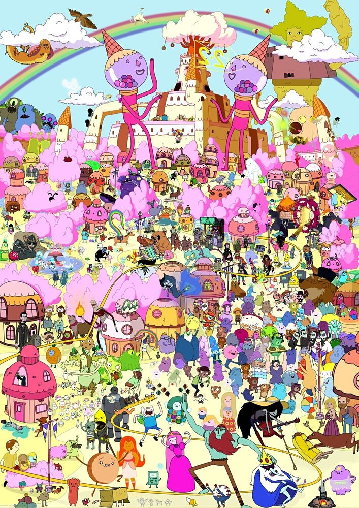 adventure time with finn and jake all characters www