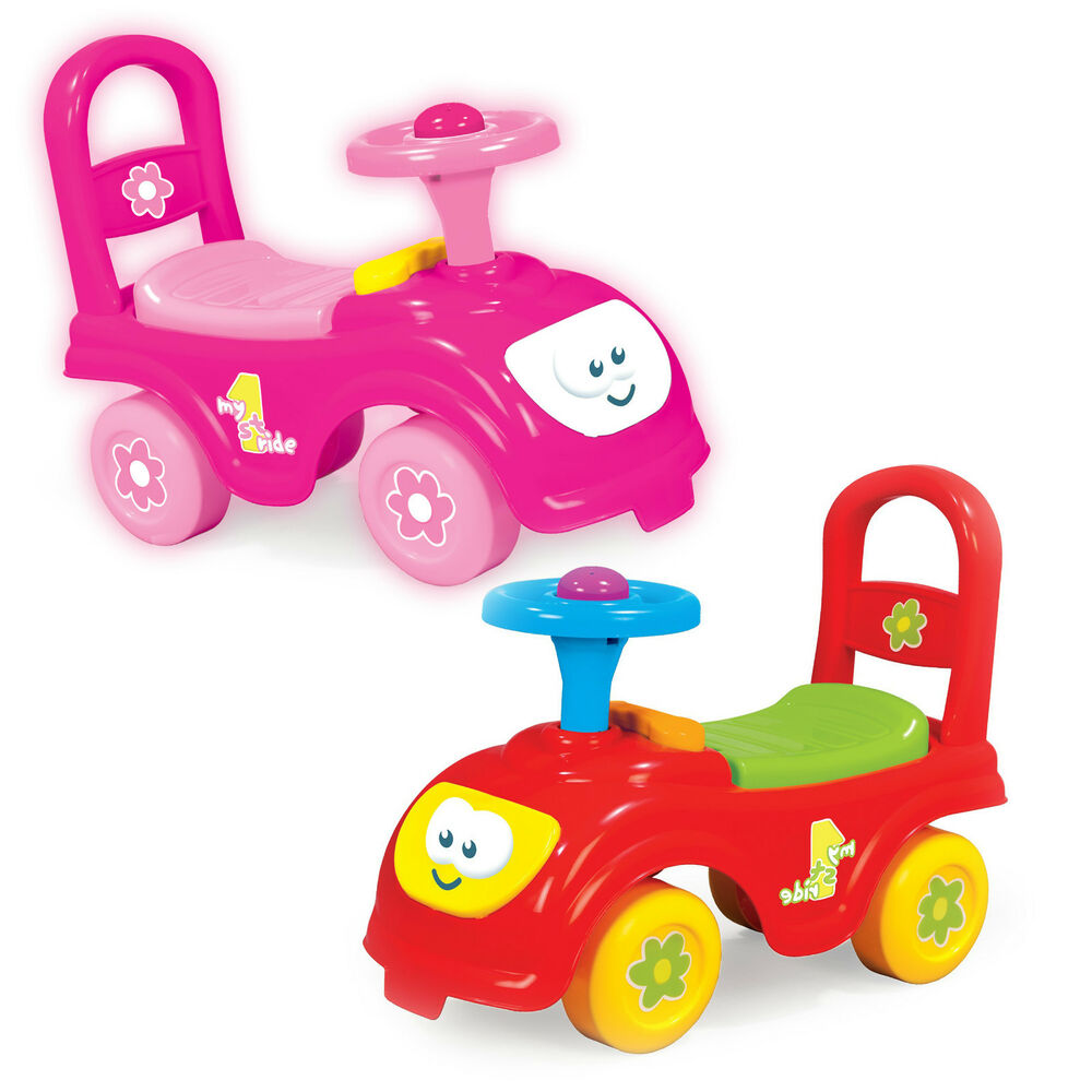 My First Ride On Kids Toy Cars Boys Girls Push Along