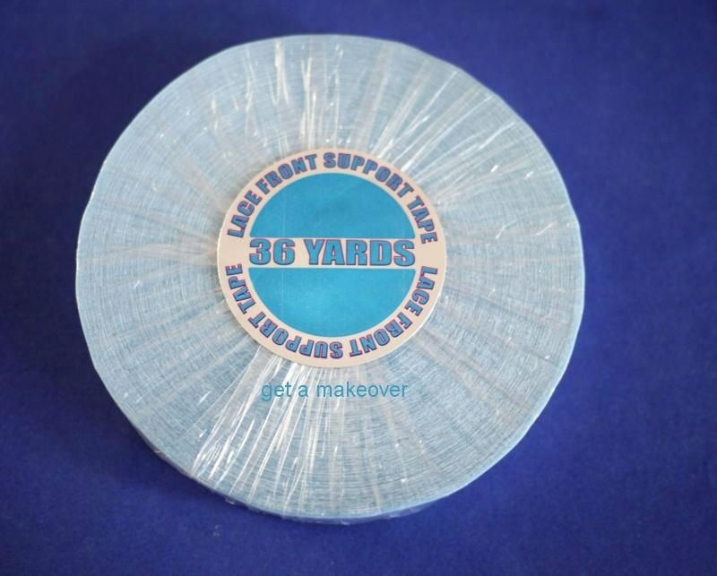 Walker Lace Front Support Tape 3 4 Quot Roll 36 Yard Wig Blue
