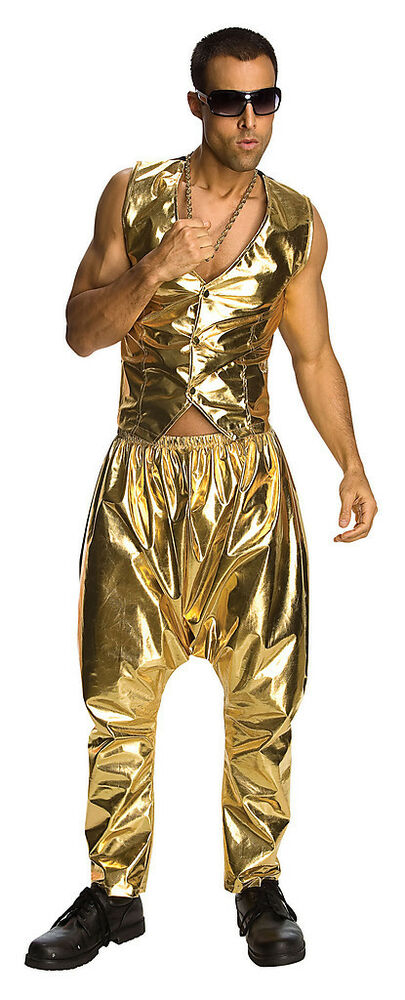 mc hammer rapper costume parachute pants only adult 90s