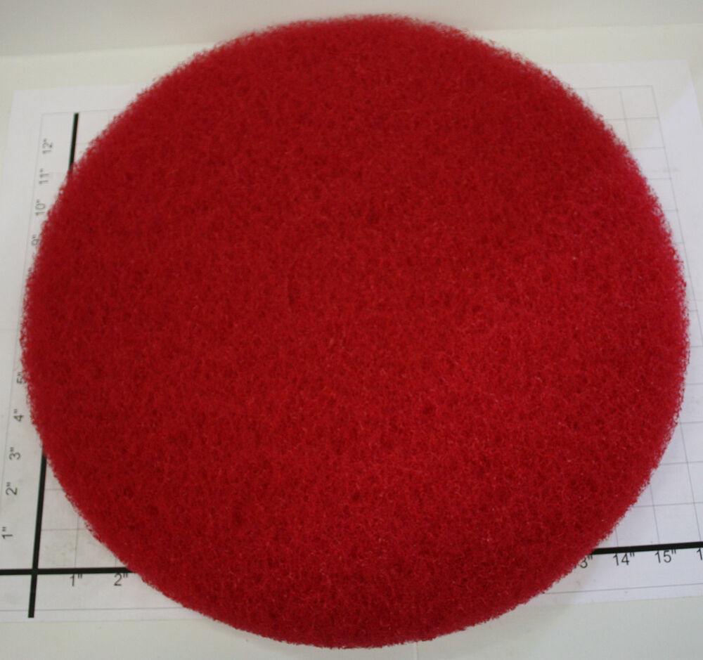 Lot Of 5 Norton 17 Quot Floor Maintenance Stripping Pad Red