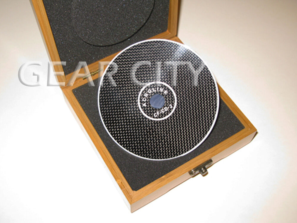 Ncd01 0 48mm Carbon Fiber Cd Dvd Stabilizer Mat Top Tray