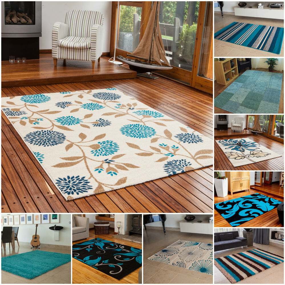 Xl Purple Rug: Teal Blue Small Large XL Rug Cheap Thick Soft Online Rugs