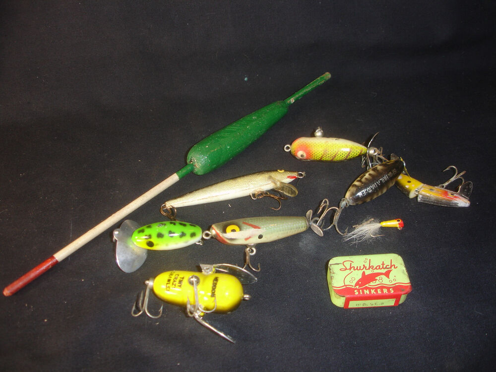 Jitterbug fish fishing lures lot with shurkatch sinkers for Jitterbug fishing lure