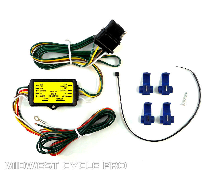 Trailer Wiring Harness For Surge Brakes : Trailer wire harness converter for gl