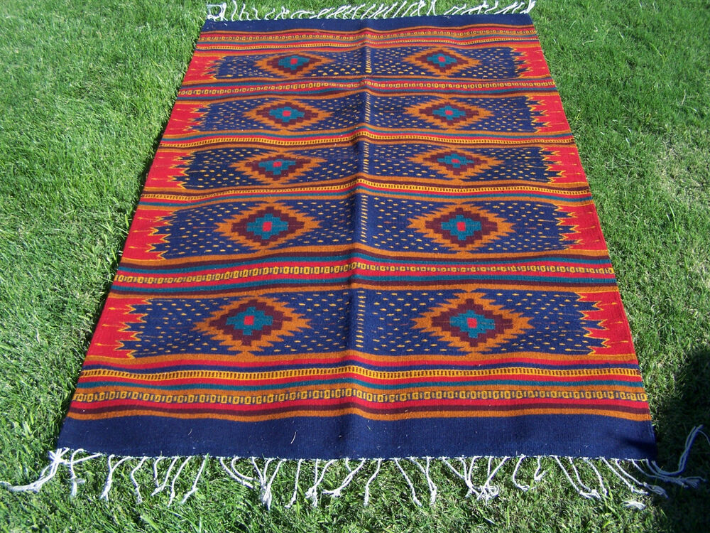 Zapotec Rug 4x6 Handwoven Area Rug 100 Wool Southwest