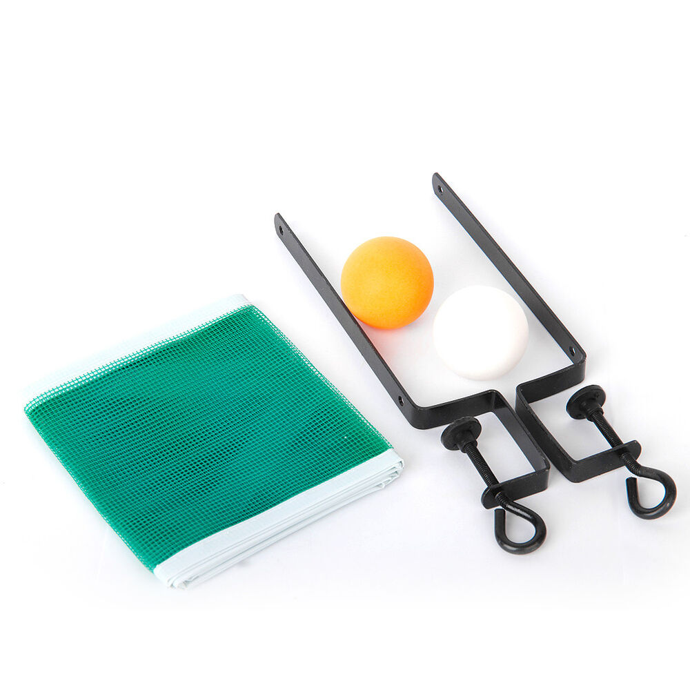 Table Tennis Net Post Clamp Stand Holder Set Ping Pong