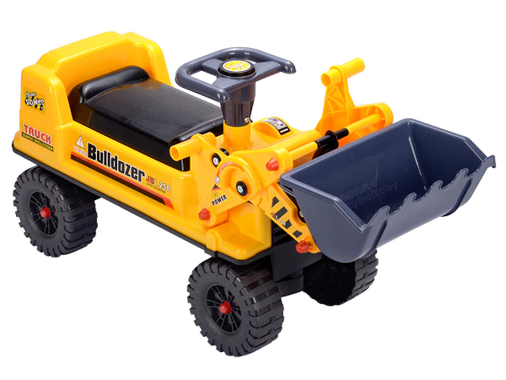 Construction Riding Toys For Boys : Deao ride on excavator digger with movable bucket ebay