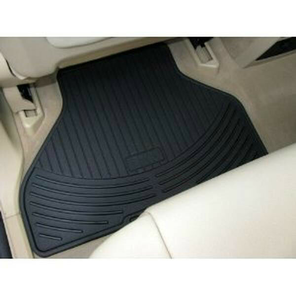 Bmw X5 E70 Rubber Floor Mats: BMW X5 All Weather REAR Floor Mats Rubber Floormats 2001