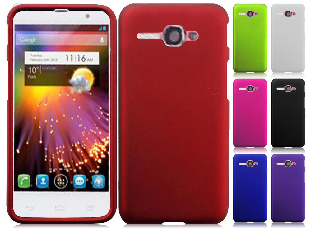 Alcatel One Touch Sonic LTE Rubberized HARD Protector Case Phone Cover ...