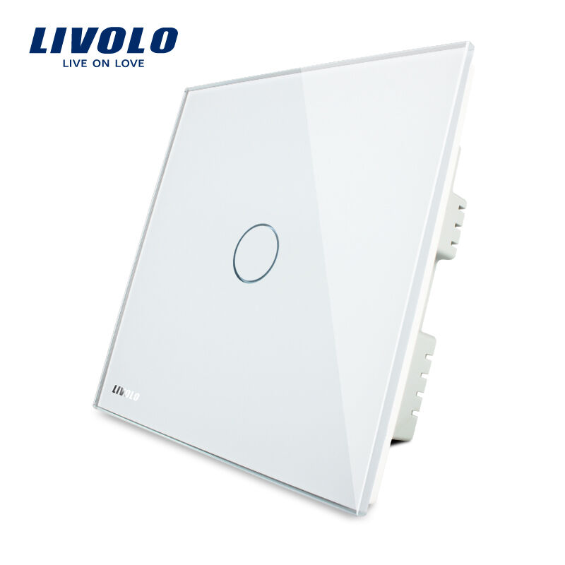 LIVOLO New UK Type Wall Light Multi Function Touch Switch Crystal ...