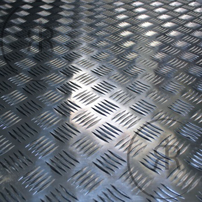 2mm aluminium checker plate treadplate 5 bar sheet plate. Black Bedroom Furniture Sets. Home Design Ideas