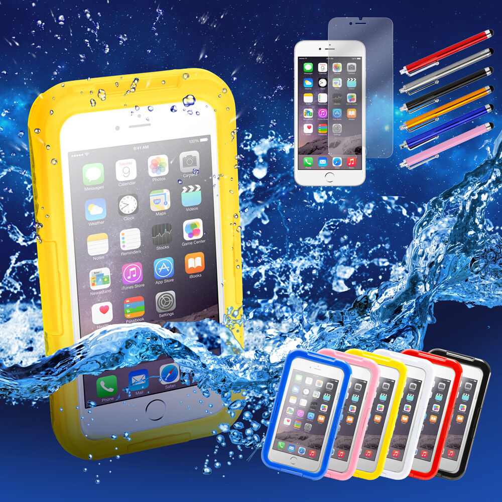 iphone 6 plus waterproof waterproof shockproof dirt proof cover for apple 15051