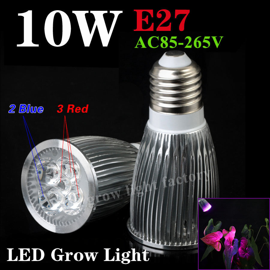 greenhouse 10w led plant grow light blub spotlight hydroponic red blue e27 gu10 ebay. Black Bedroom Furniture Sets. Home Design Ideas