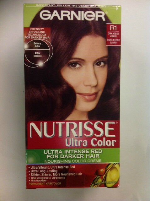 Garnier Nutrisse Ultra Color Permanent Hair color, #R1 ...