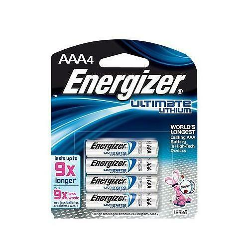 energizer l92bp 4 ultimate lithium aaa batteries 4 pack. Black Bedroom Furniture Sets. Home Design Ideas