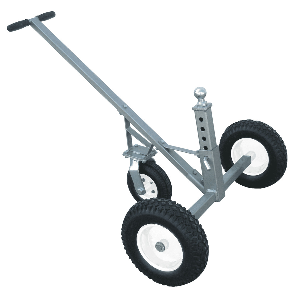 Tow Tuff Adjustable 800 Lb Trailer Dolly With Caster Tmd