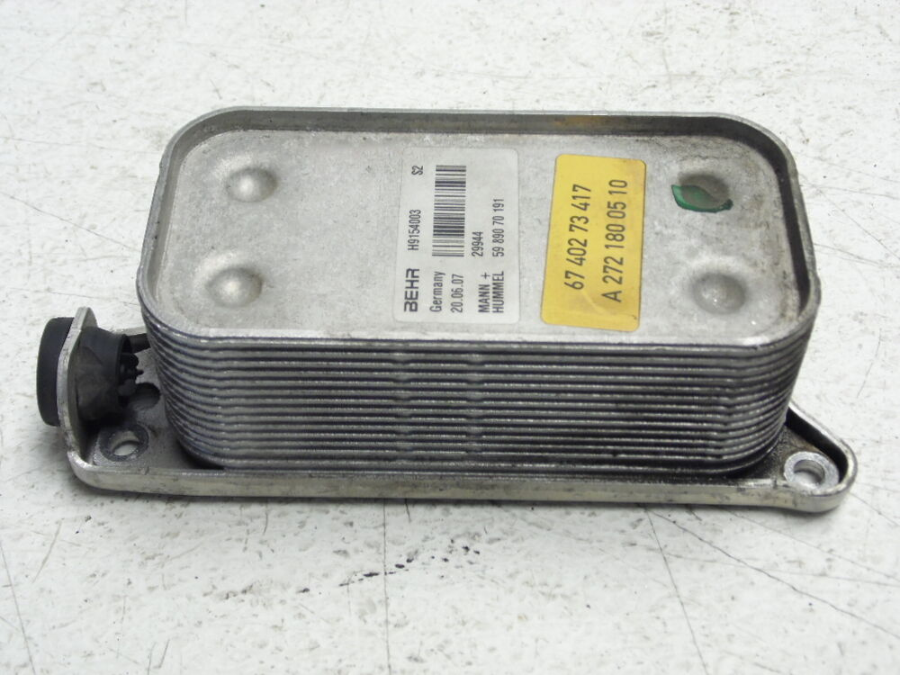 Automotive Oil Coolers : Mercedes benz ml engine motor oil cooler