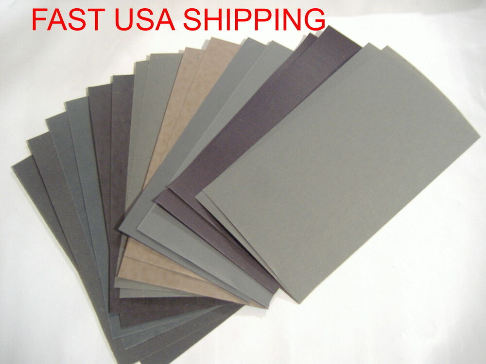wet sand paper Sandpaper and glasspaper  this helps prevent clogging of the sandpaper wet and dry sandpaper is more effective used wet because clogging is reduced by particles .