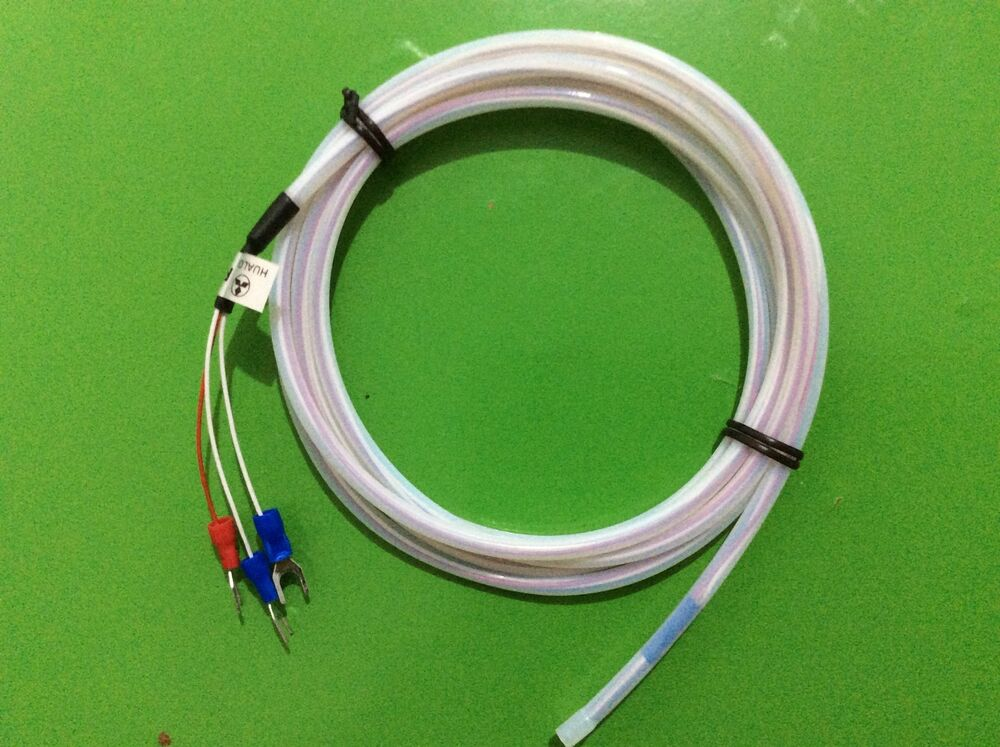 1m Rtd 3wires Pt100 Sensor Waterproof Corrosion Protection