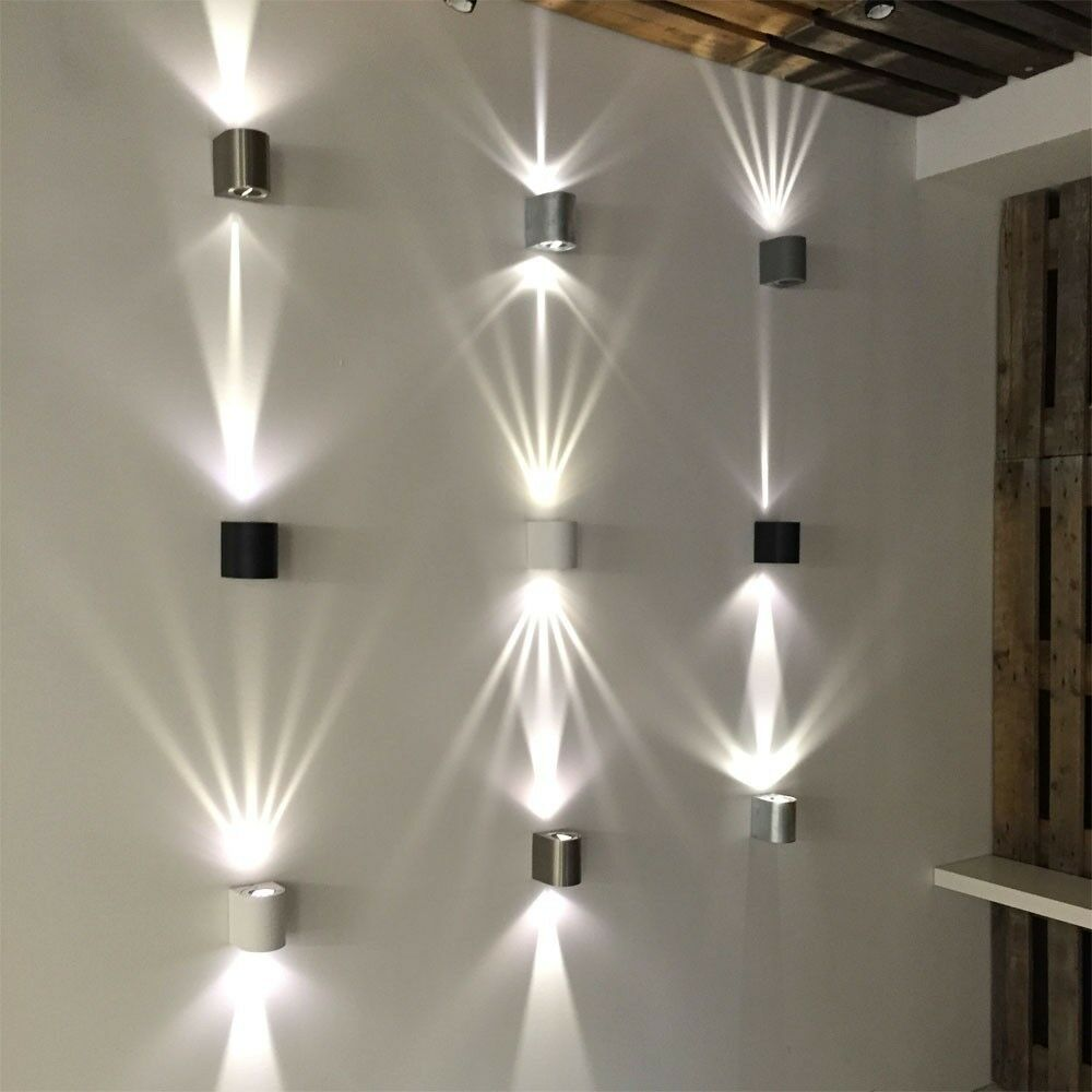 led aussen wandleuchte baleno effektleuchte wandlampe led lampe lichtfilter ebay. Black Bedroom Furniture Sets. Home Design Ideas