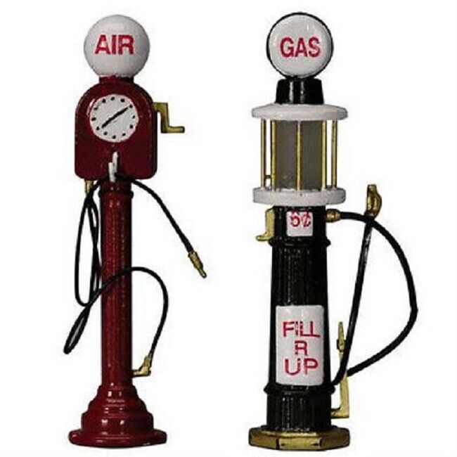 Lemax Village Vintage Miniature Air Pump And Visible Gas
