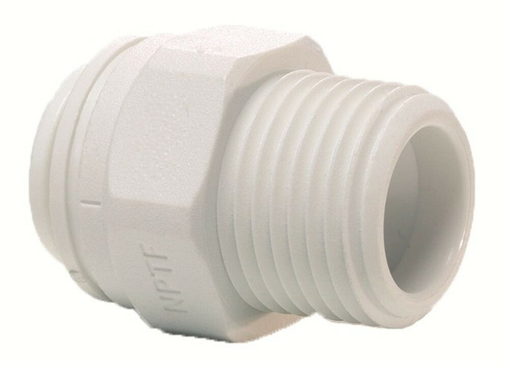 Screw Push Fit Filter Housing Connector 1 4 Quot X 3 8 Quot For