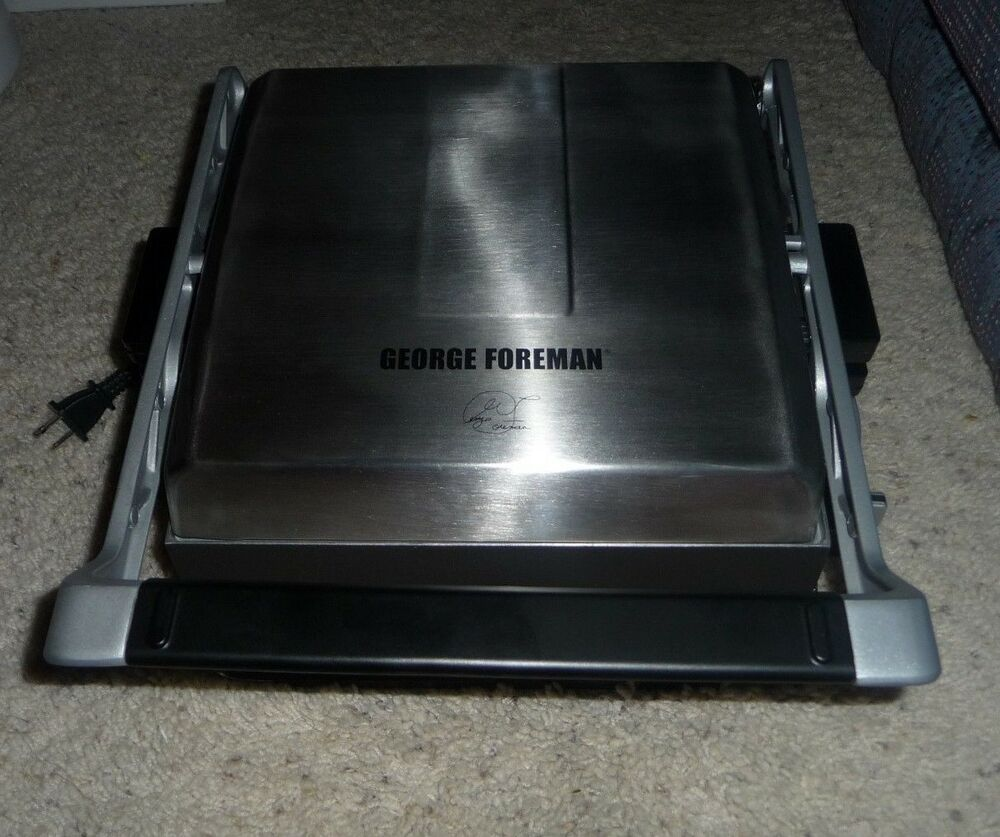 George foreman grp3102sbb removable plate grill service - George foreman replacement grill plates ...