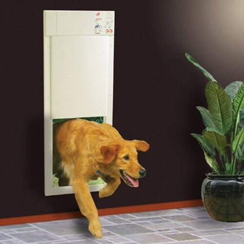 Power Pet Large Electronic Automatic Dog Door Factory