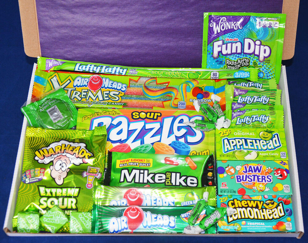 American Candy Gift Box Birthday Present Usa Sweets
